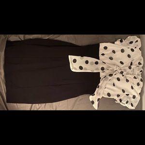 Charlotte Russe office dress, pencil skirt